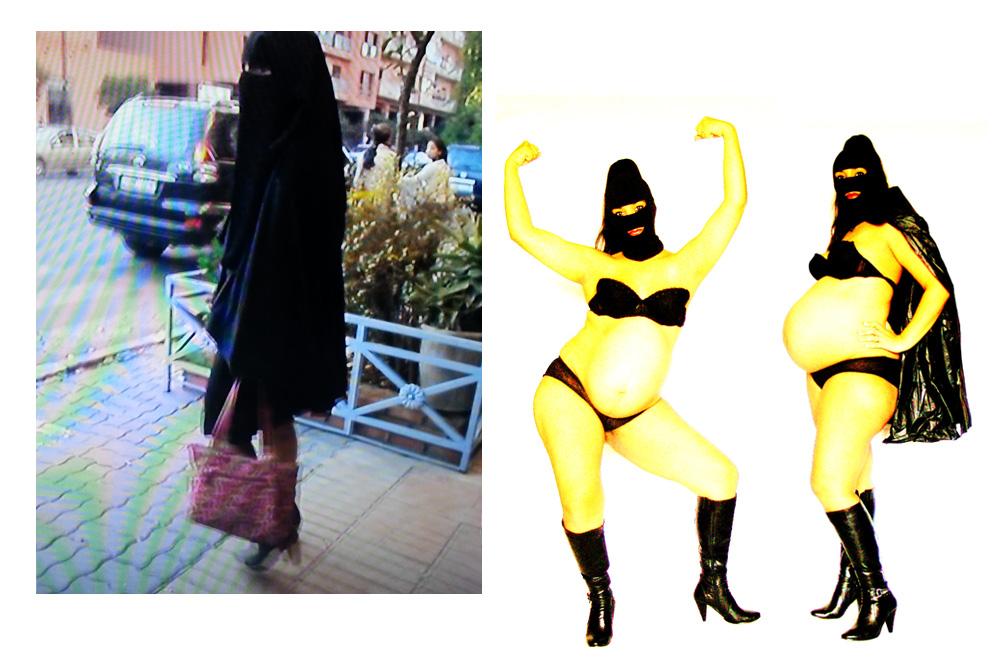 """2 min 45 à Marrakech"" de Nadia Bensallam - ""Super Oum"" de Fatima Mazmouz"