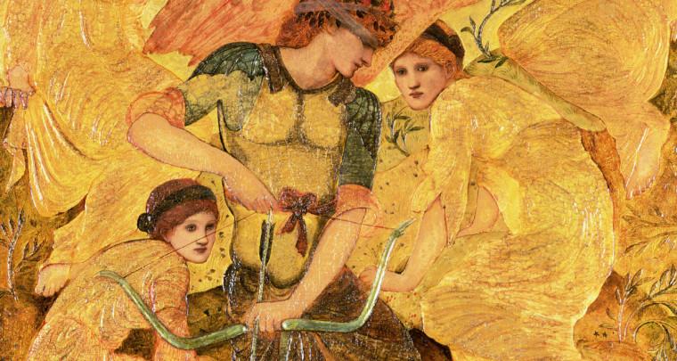 Yvain et Lancelot illustrés par la peinture préraphaélite, Diane de Selliers Editeur