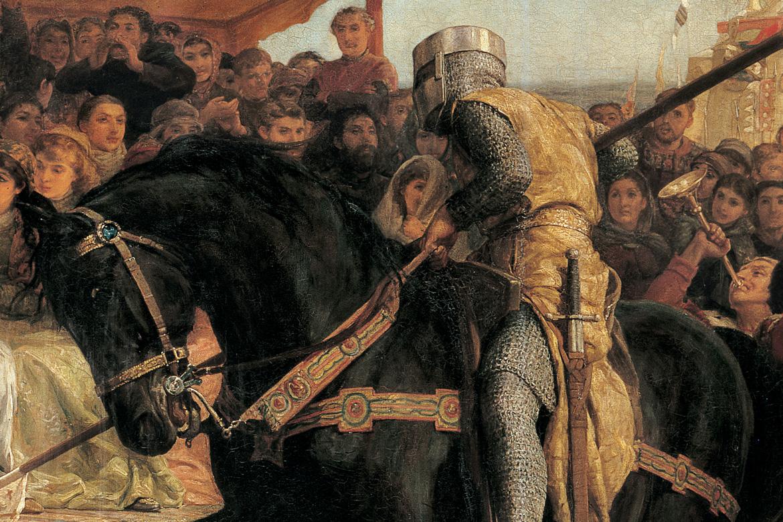 Yvain ou le Chevalier au Lion et Lancelot ou le Chevalier de la Charrette », de Chrétien de Troyes, illustrés par la peinture préraphaélite, Diane de Selliers Editeur