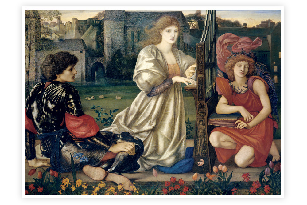 """Le chant d'amour"" Edward Coley Burne-Jones"