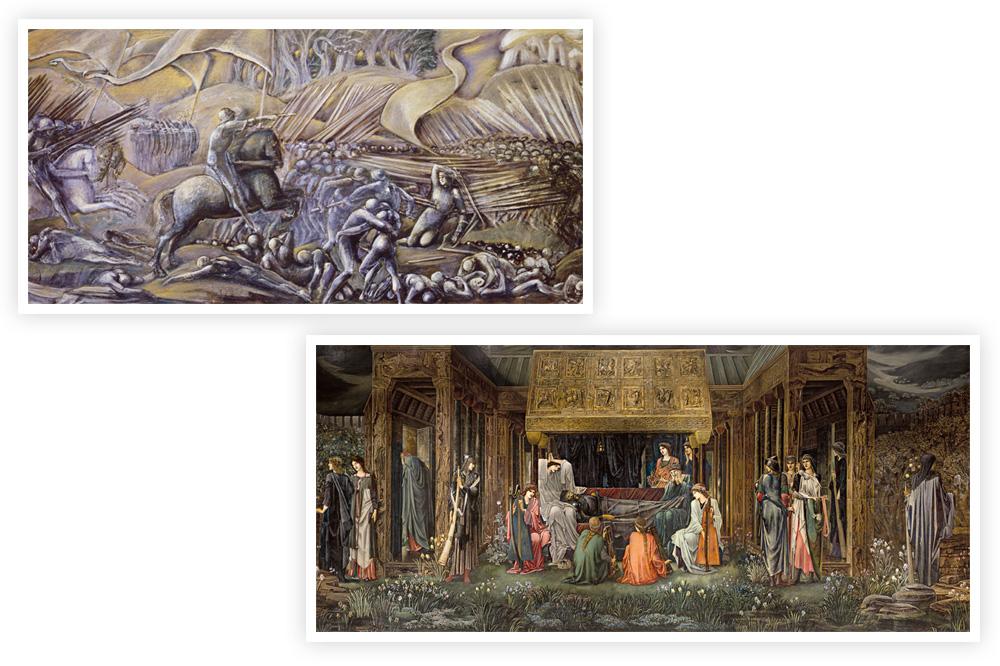 """""""Bataille de Flodden-Field"""" - """"Le sommeil du Roi Arthur"""""""