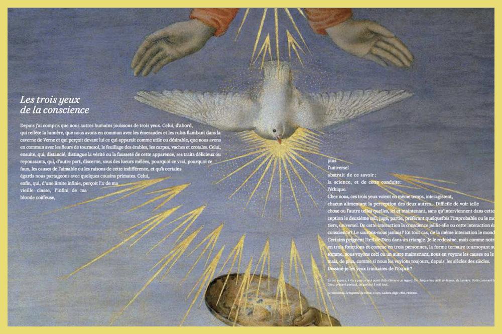 « Yeux » de Michel Serres, éditions Le Pommier