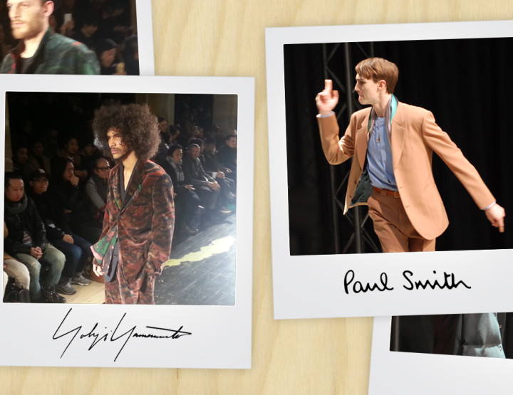 Paris Fashion Week Homme : Paul Smith/Yohji Yamamoto FW15