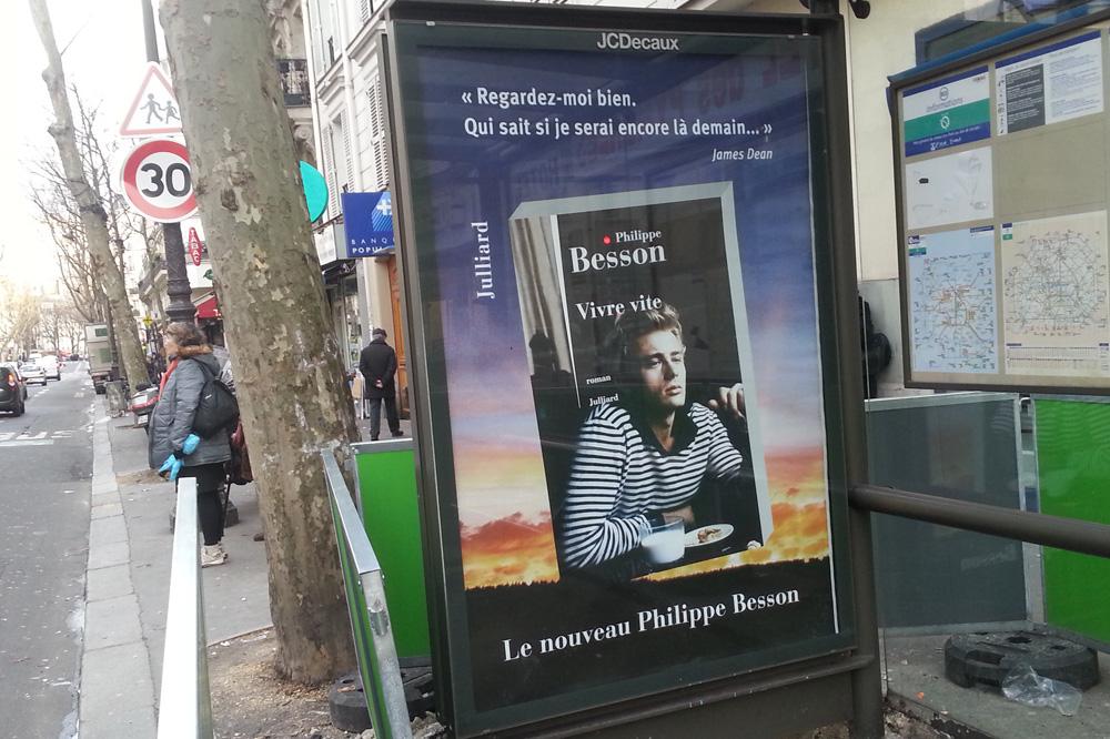 """Vivre vite"" de Philippe Besson, Editions Julliard"