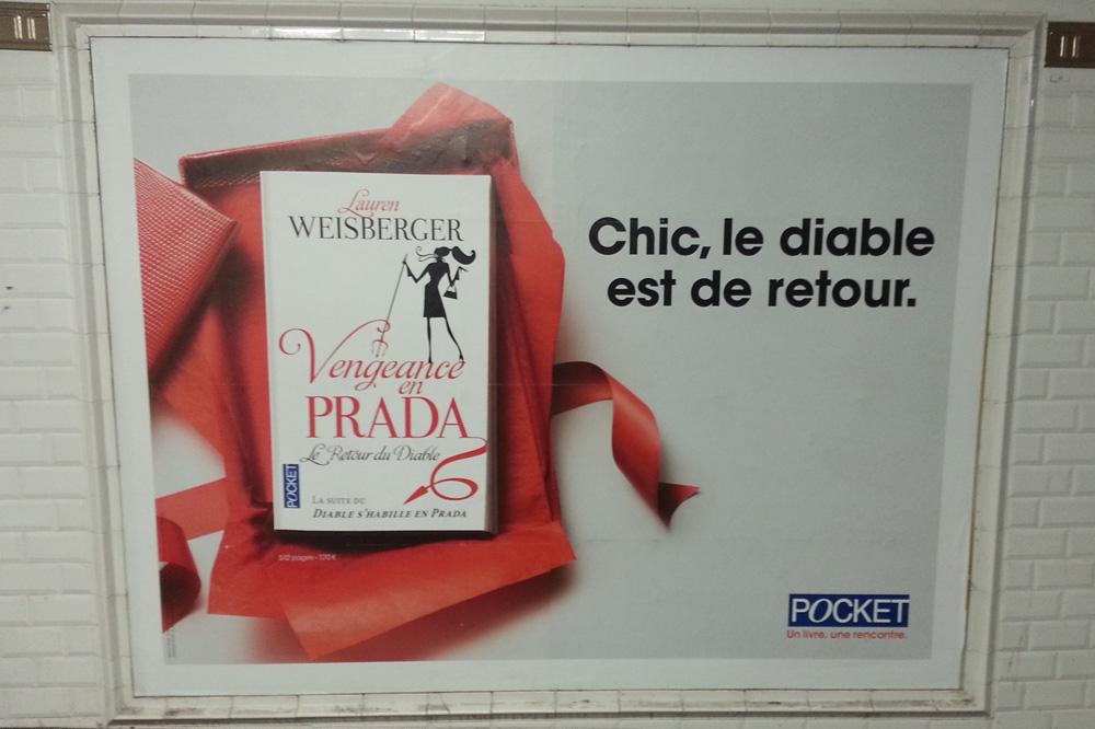 """""""Vengence en Prada - Le retour du Diable"""" de Lauren Weisberger, Editions Pocket"""