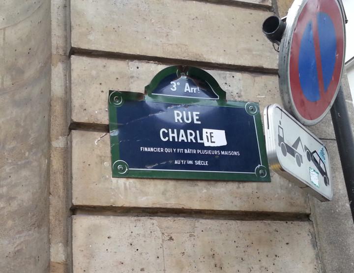 Paris est une fête : Paris est Charlie !