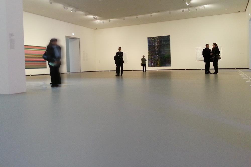 Un espace d'exposition dédié à Gerhard Richter