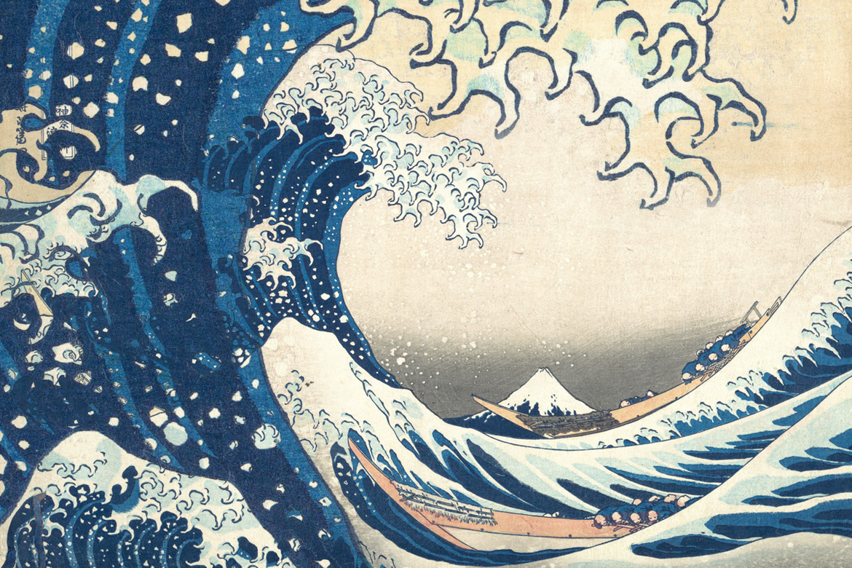 « Hokusai, le vieux fou d'architecture » sous la direction de Jean-Sébastien Cluzel, Coédition Seuil/BnF