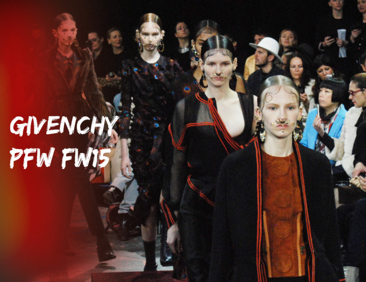 Paris Fashion Week FW15 : Givenchy