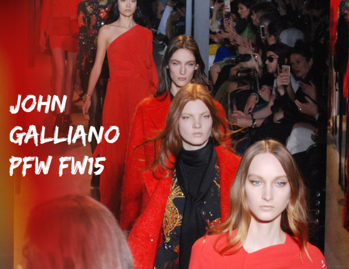 Paris Fashion Week FW15 : John Galliano