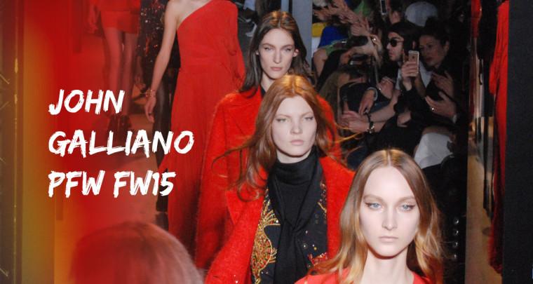 Paris Fashion Week FW15 : John Galliano
