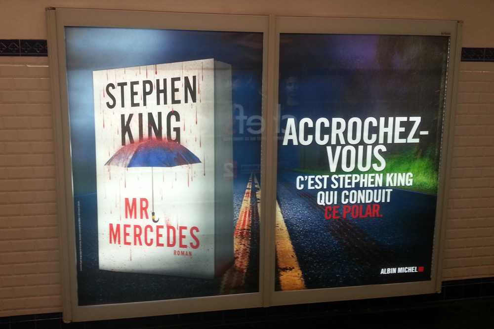 """Mr Mercedes"" de Stephen King - Editions Albin Michel"
