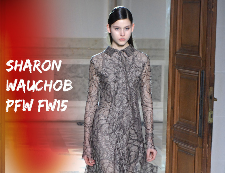 Paris Fashion Week FW15 : Sharon Wauchob