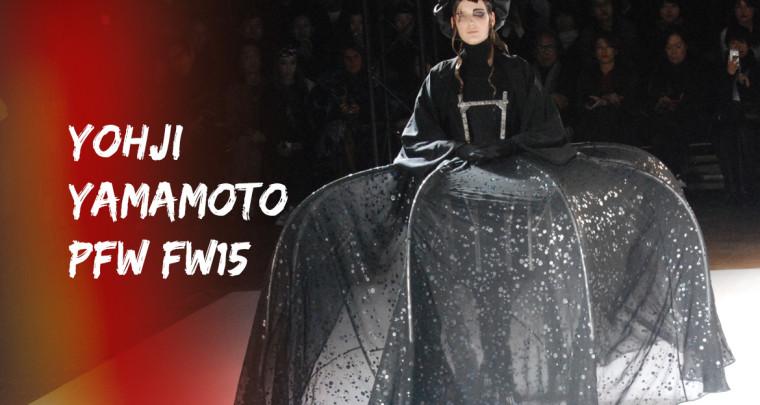 Paris Fashion Week FW15 : Yohji Yamamoto