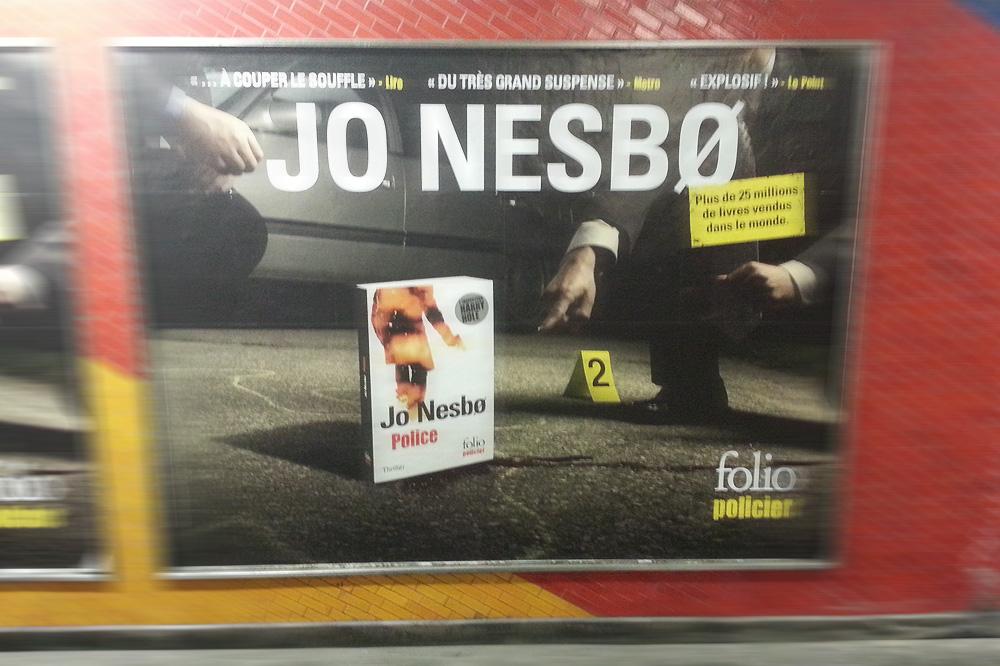 """Police"" de Jo Nesbo, Editions Folio"