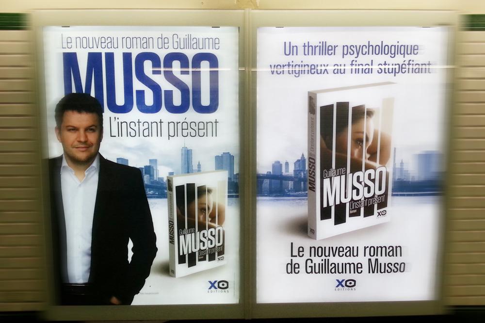 """""""L'instant présent"""" de Guillaume Musso, XO Editions"""