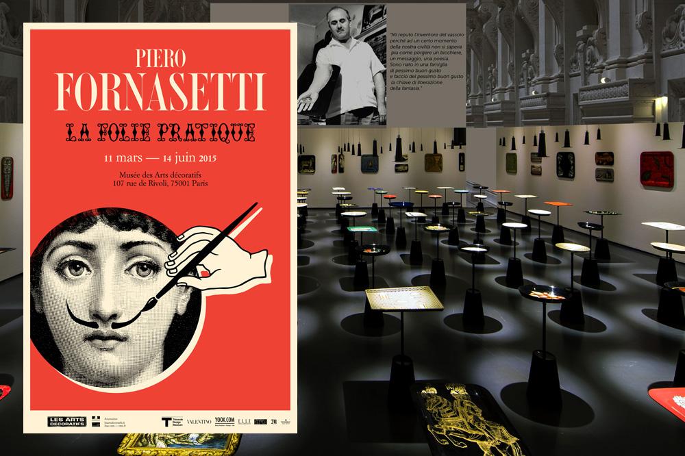 Affiche et vue de l'exposition