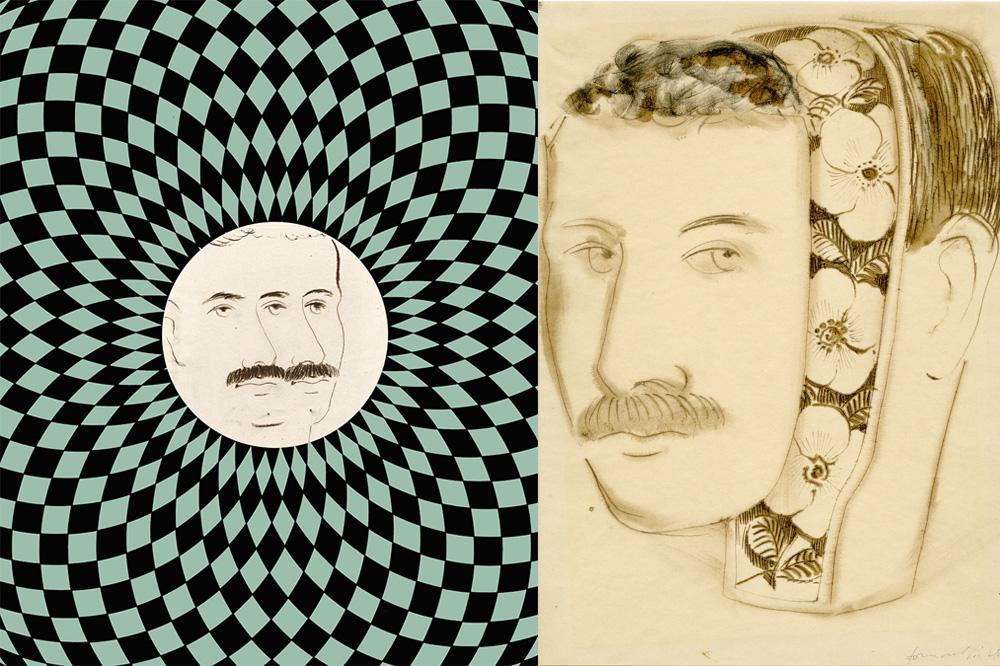 Autoportrait de Piero Fornasetti, 1941-1945 - Autoportrait de la série « Autoritratti », 1941-1945