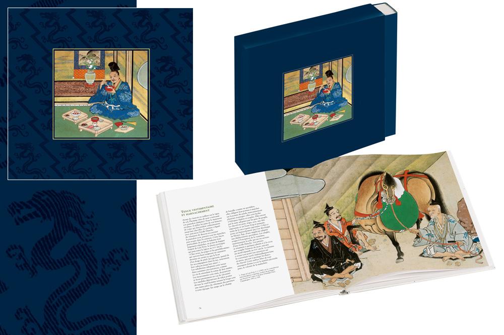 « Des mérites comparés du saké et du riz », illustré par un rouleau japonais du 17e siècle, Coédition Diane de Selliers Editeur/Bnf