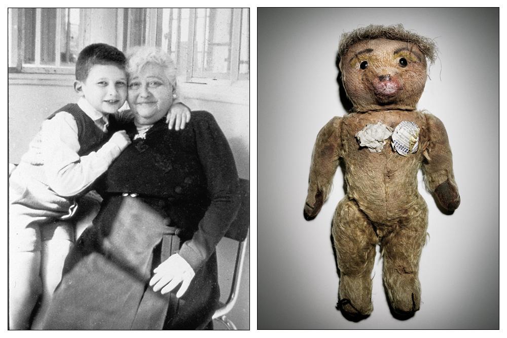Le petit Jean-Paul et sa grand-mère - L'ourson Nana