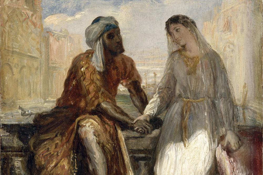 """""""Othello et Desdémone à Venise"""" de Théodore Chassériau,1850"""