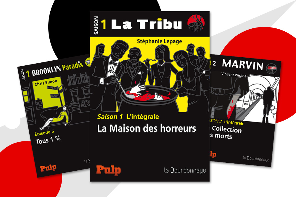 """Tous 1%"" de Chris Simon ; ""La maison des horreurs"" de Stéphanie Lepage ; ""La collection des morts"" de Vincent Virgine - Collection Pulp - Editions La Bourdonnaye"