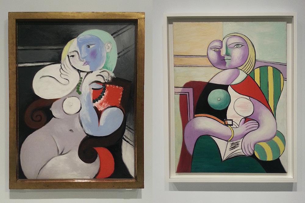 Fondation-Vuitton-les-clefs-d-une-passion_copiright-Stephane-Chemin_le-mot-la-chose_16_Pablo-Picasso-femme-nue-dans-un-fauteuil-rouge-la-lecture