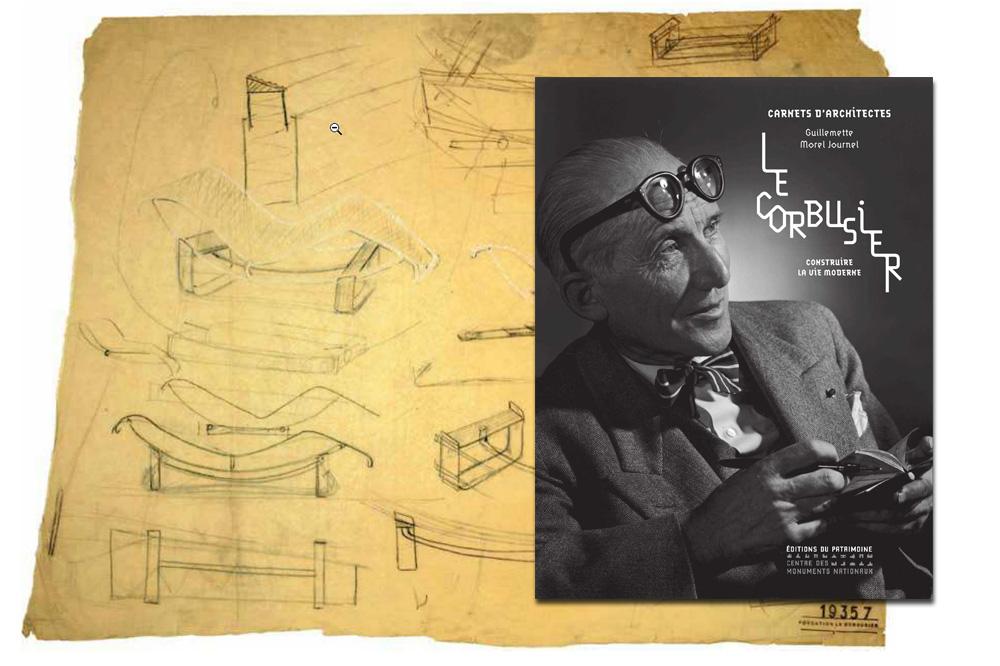 """""""Le Corbusier Construire la vie moderne"""" de Guillemette Morel Journel - COLLECTION """"CARNETS D'ARCHITECTES"""", Editions monuments nationaux"""