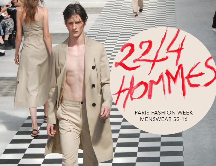 Paris Fashion Week Homme SS16 : 22/4_Hommes