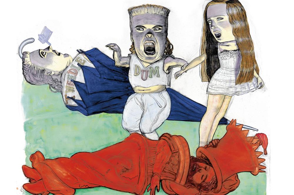 Alice-au-pays-des-merveilles_illustrations-Pat-Andrea_Editions-Diane-de-Selliers_Le-mot-la-chose_09
