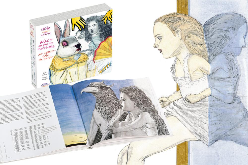 Alice-au-pays-des-merveilles_illustrations-Pat-Andrea_Editions-Diane-de-Selliers_Le-mot-la-chose_15