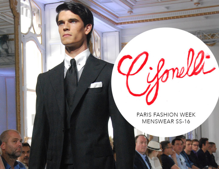 Paris Fashion Week Homme SS16 : Cifonelli