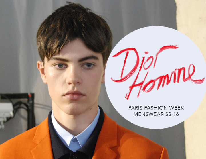 Paris Fashion Week Homme SS16 : Dior Homme