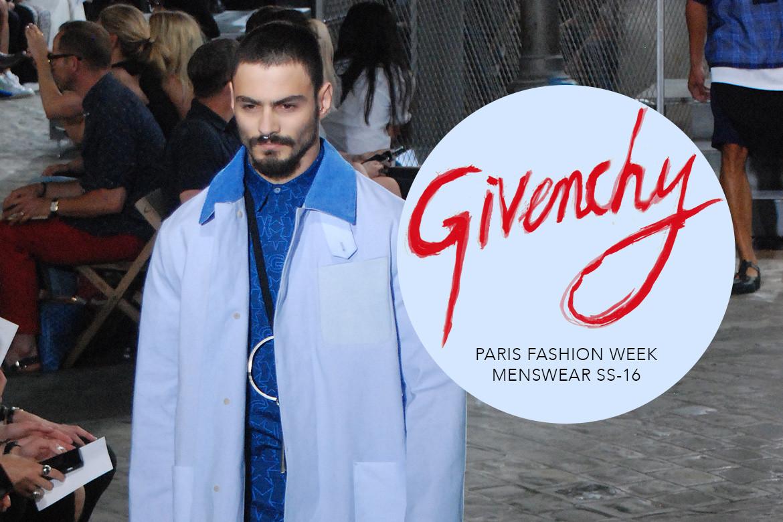 Le Mot   la Chose » La Culture autrement » Paris Fashion Week Homme SS16    Givenchy 22456e2867f