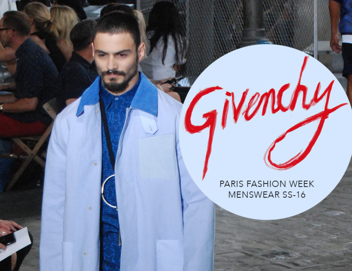 Paris Fashion Week Homme SS16 : Givenchy