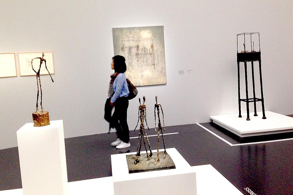 Sculptures d'Alberto Giacometti