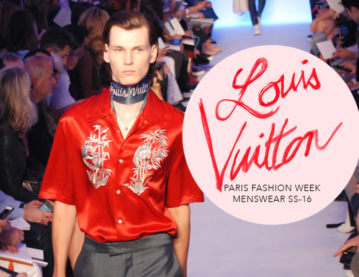 Paris Fashion Week Homme SS16 : Louis Vuitton