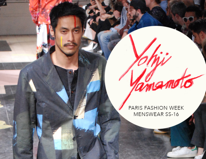 Paris Fashion Week Homme SS16 : Yohji Yamamoto