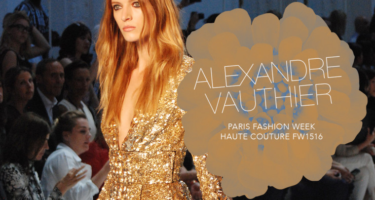 Paris Fashion Week Haute Couture FW15/16 : Alexandre Vauthier