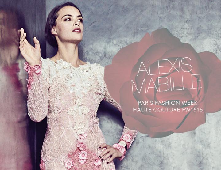 Paris Fashion Week Haute Couture FW15/16 : Alexis Mabille