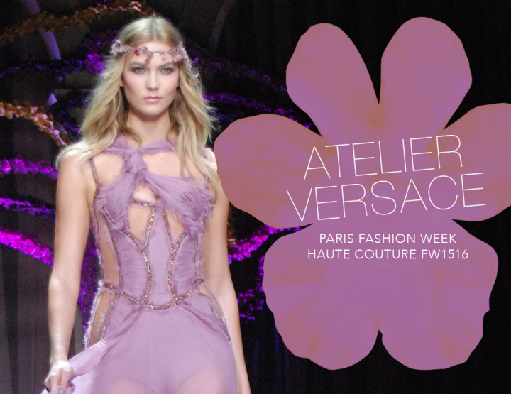 Paris Fashion Week Haute Couture FW15/16 : Atelier Versace