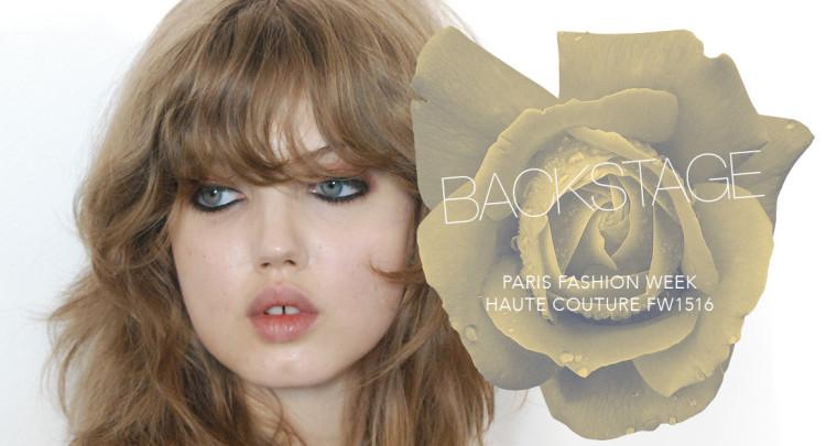 Paris est une fête : Paris Fashion Week Haute Couture FW15/16 Backstage
