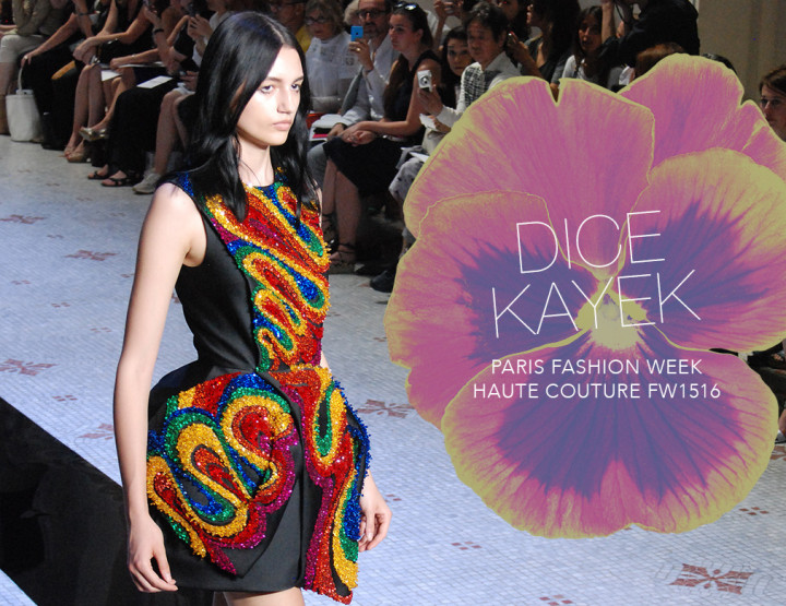 Paris Fashion Week Haute Couture FW15/16 : Dice Kayek