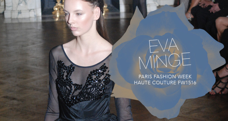 Paris Fashion Week Haute Couture FW15/16 : Eva Minge
