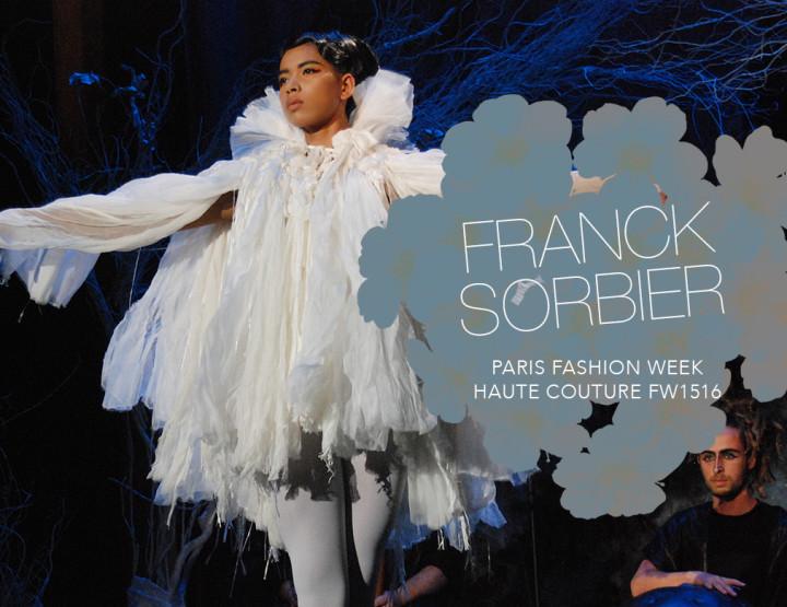 Paris Fashion Week Haute Couture FW15/16 : Franck Sorbier
