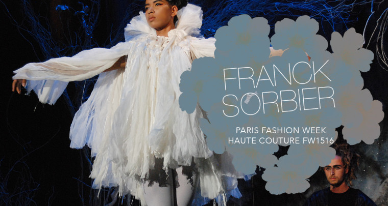 Paris Fashion Week Haute Couture FW15/16 : Franck Sorbier