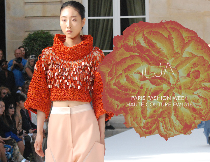 Paris Fashion Week Haute Couture FW15/16 : Ilja