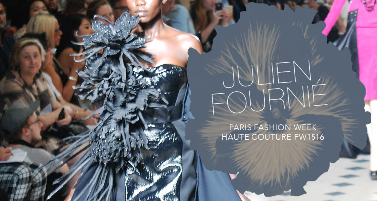 Paris Fashion Week Haute Couture FW15/16 : Julien Fournié