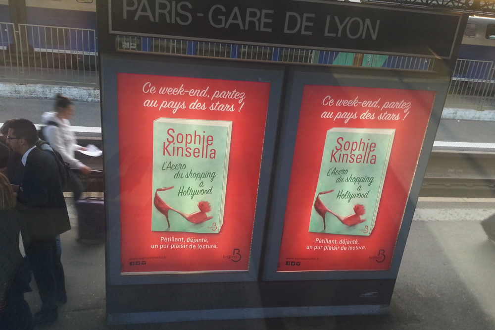 """L'accro du shopping a Hollywood"" de Sophie Kinsella - Editions-Belfond"