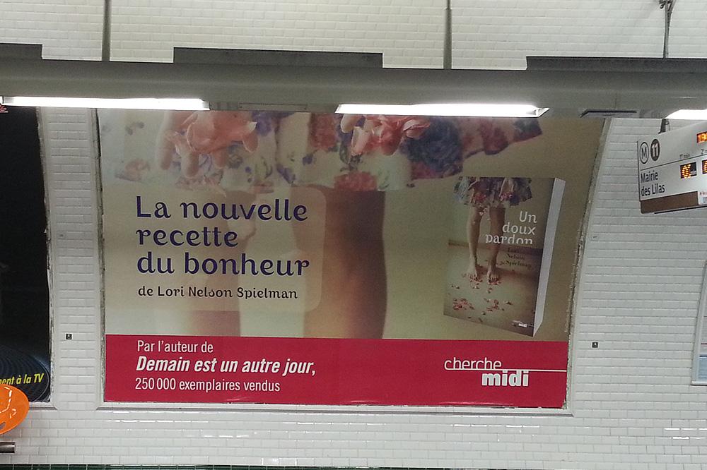 """""""Un doux pardon"""" de Lori Nelson Spielman - Editions du Cherche midi"""